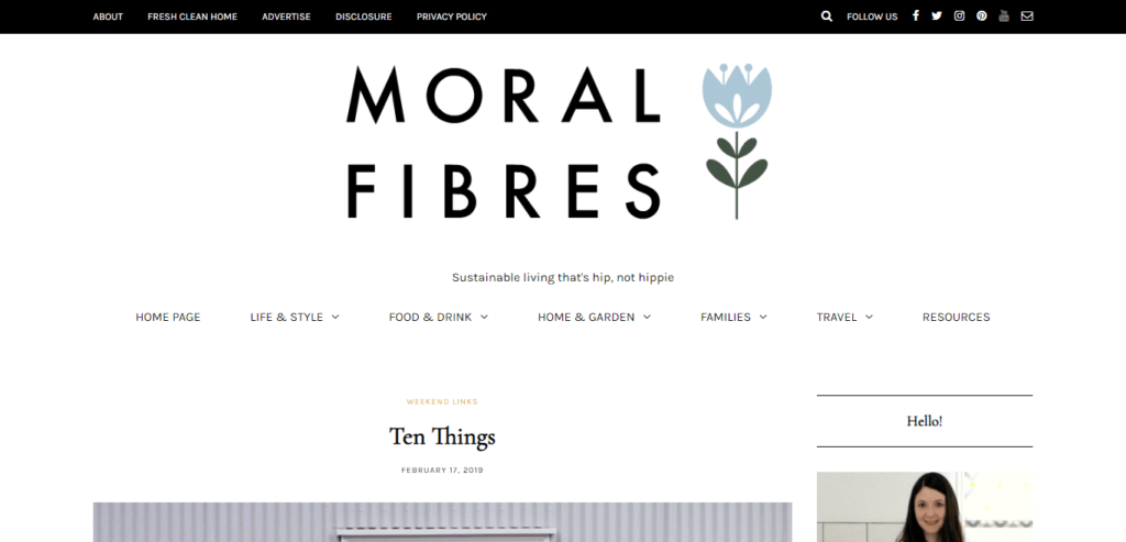 ethical blogs