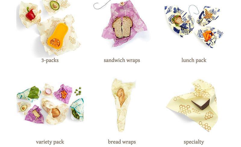 biodegradable pastic - beeswrap