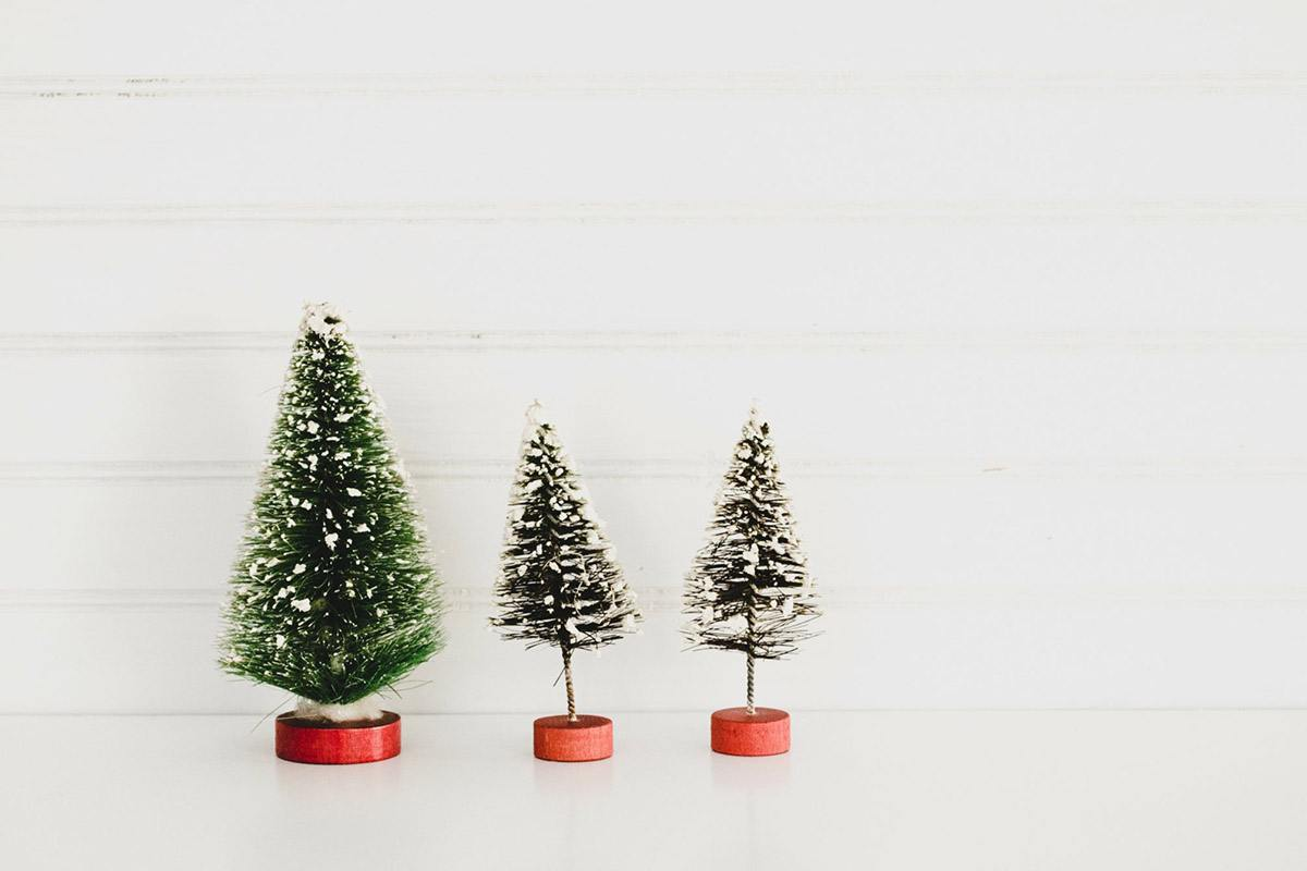 Blank Snow House Christmas Tree Ornament Holds 1 Photo